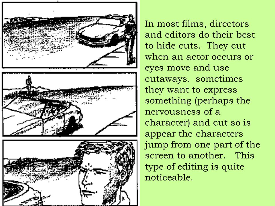 In most films, directors and editors do their best to hide cuts