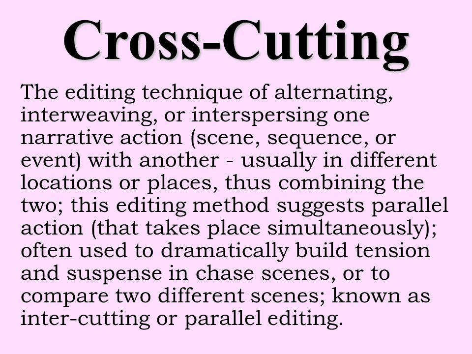 Cross-Cutting