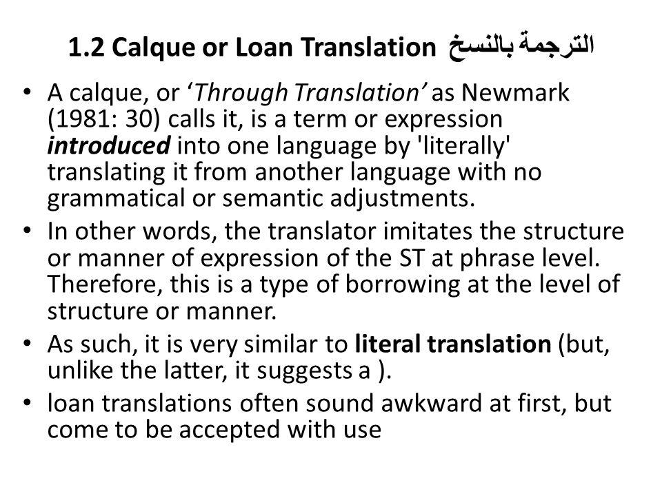 Translation Techniques - ppt download