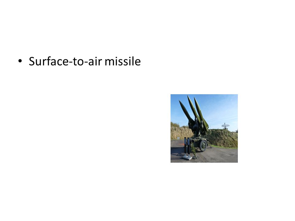 Surface-to-air missile