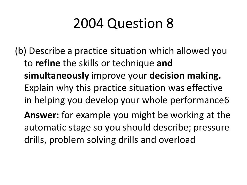 2004 Question 8