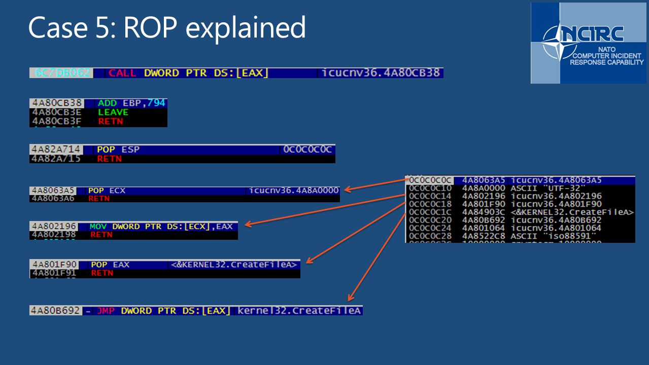 Case 5: ROP explained