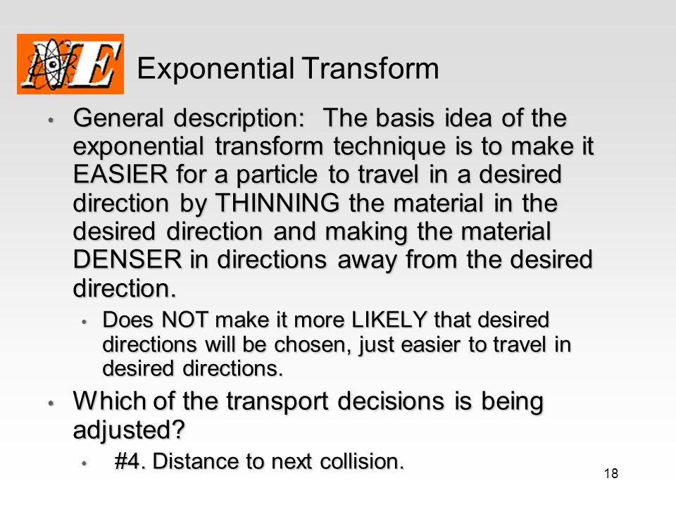 Exponential Transform