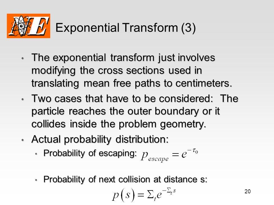 Exponential Transform (3)