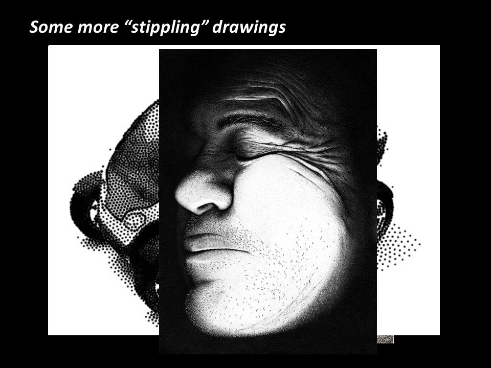 Some more stippling drawings