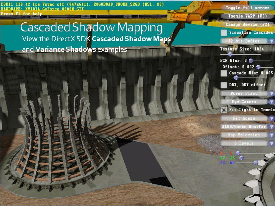 Cascaded Shadow Mapping