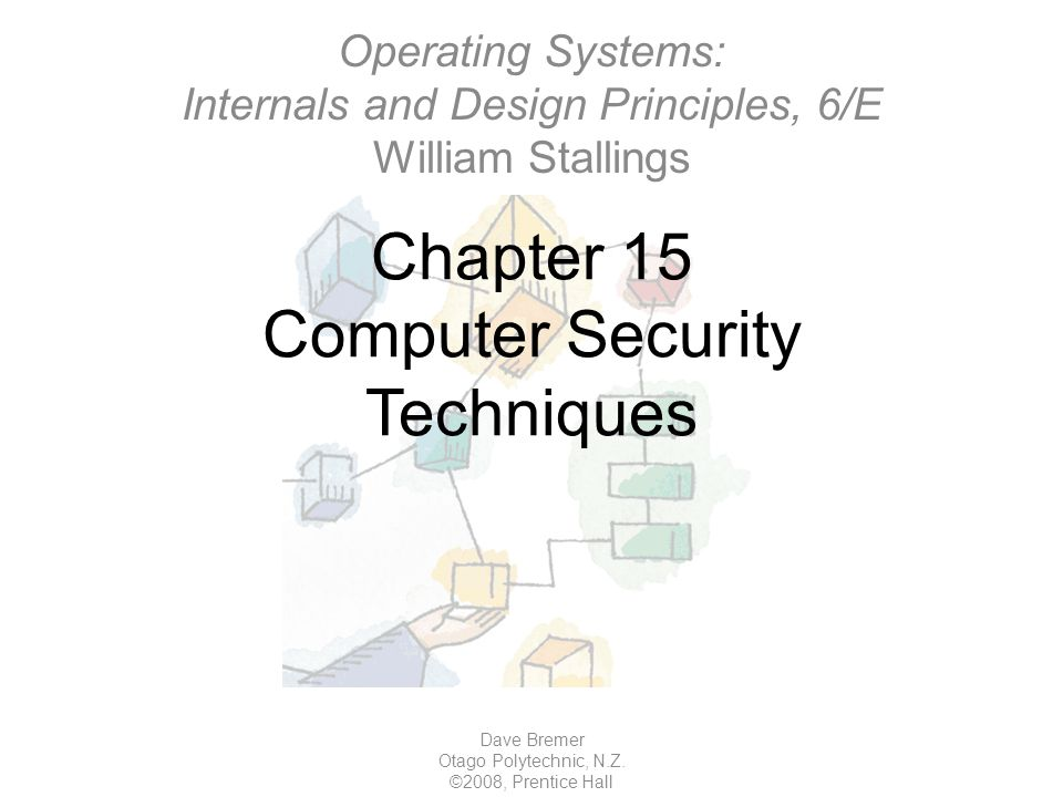 Chapter 15 Computer Security Techniques