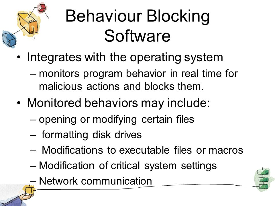 Behaviour Blocking Software