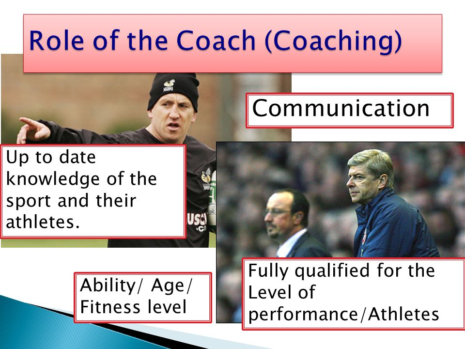 Role of the Coach (Coaching)
