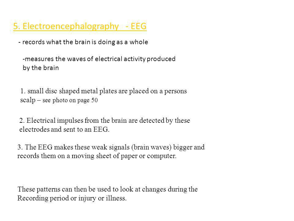 5. Electroencephalography - EEG
