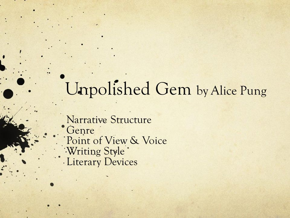 Expository – Unpolished Gem