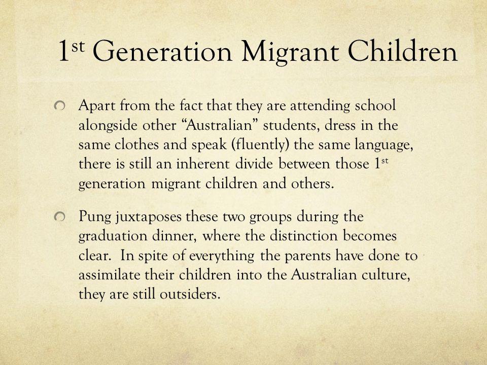 1st Generation Migrant Children
