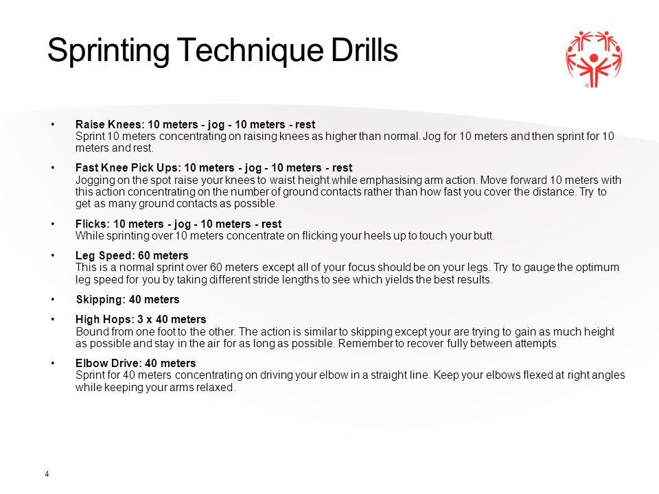 Sprinting Technique Drills