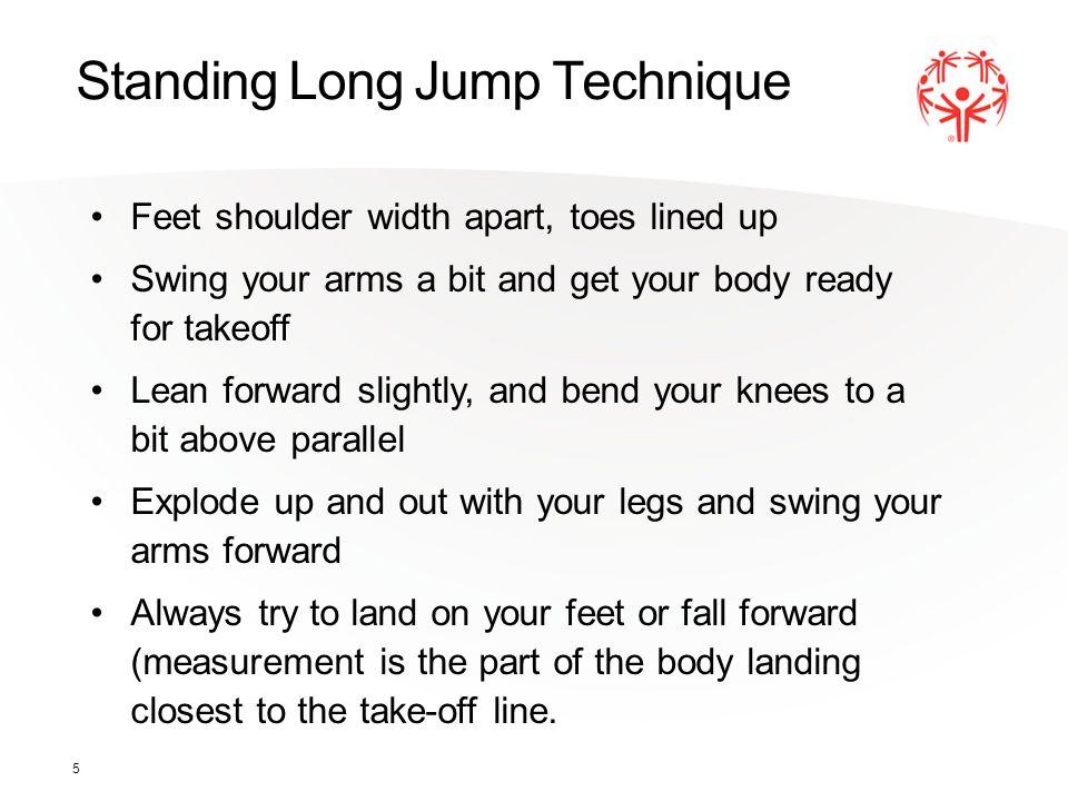 Standing Long Jump Technique