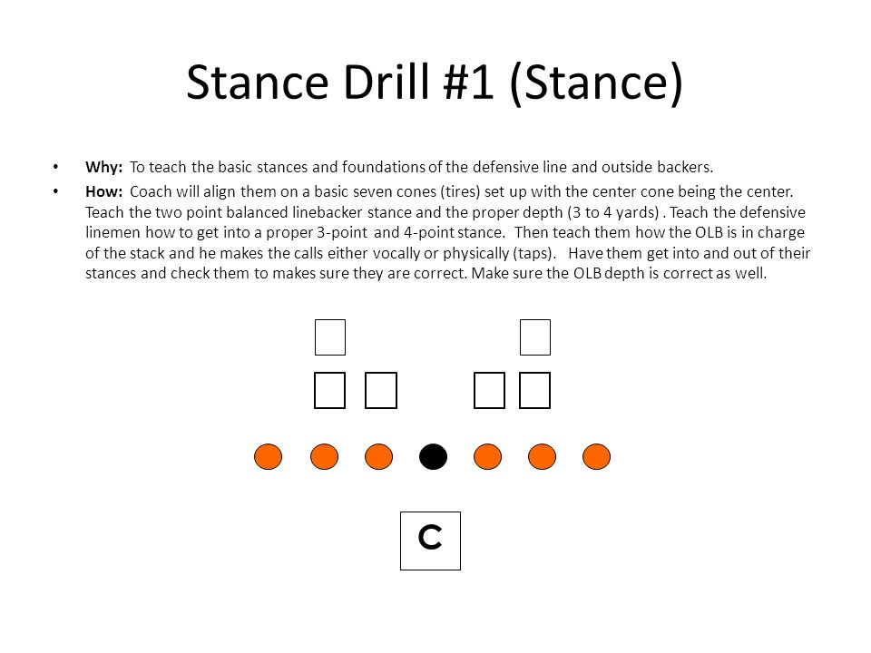 Stance Drill #1 (Stance)