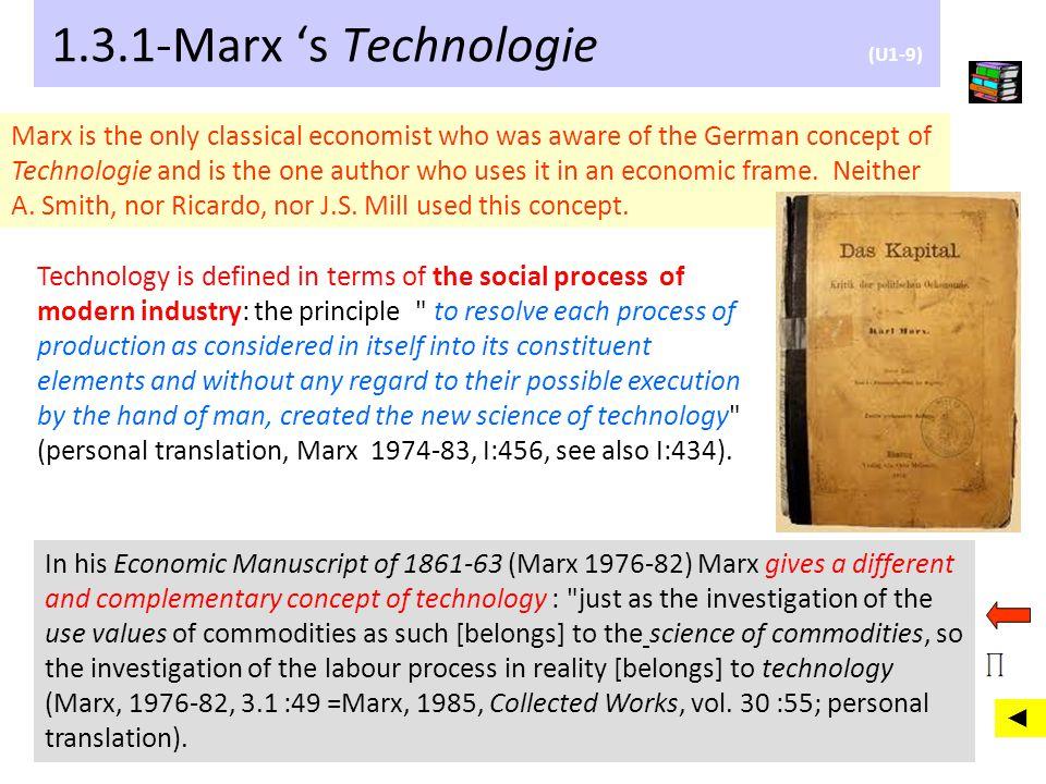 1.3.1-Marx 's Technologie (U1-9)