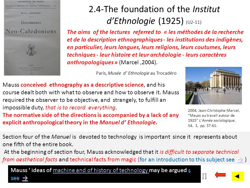 2.4-The foundation of the Institut d'Ethnologie (1925) (U2-11)