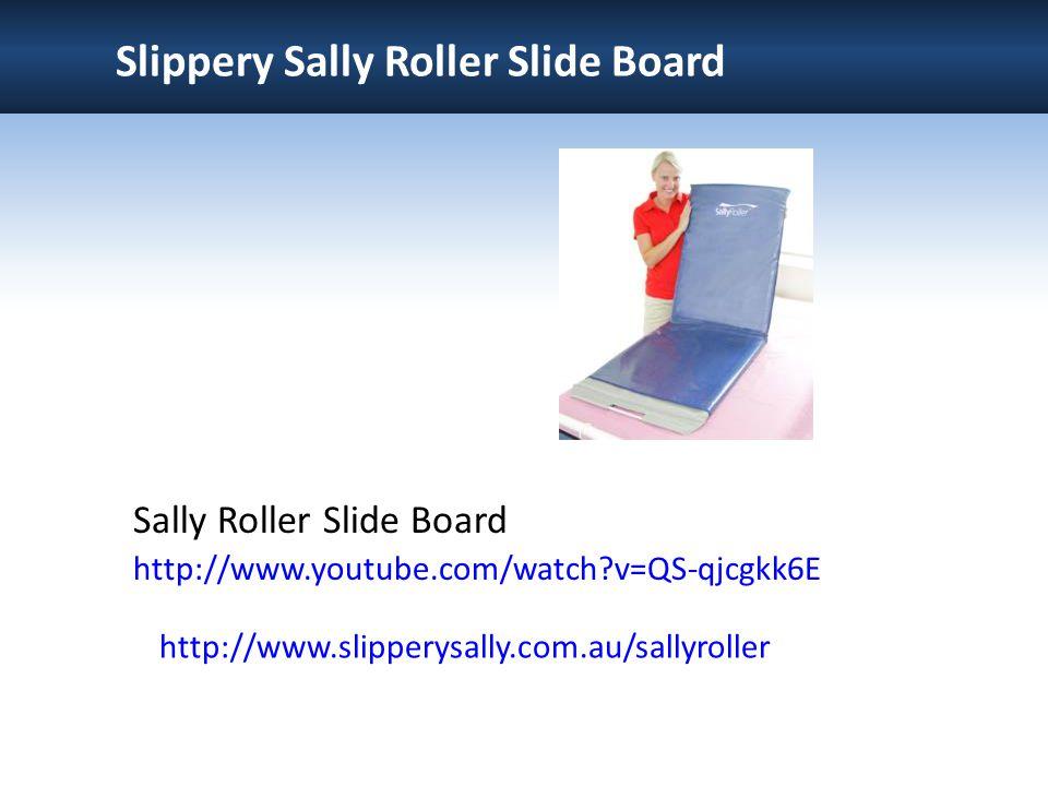 Slippery Sally Roller Slide Board