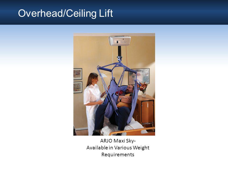 Overhead/Ceiling Lift
