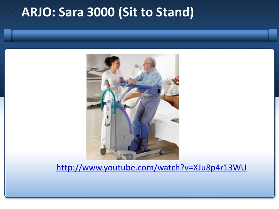 ARJO: Sara 3000 (Sit to Stand)