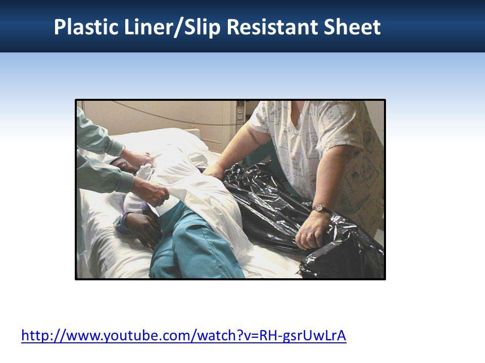 Plastic Liner/Slip Resistant Sheet