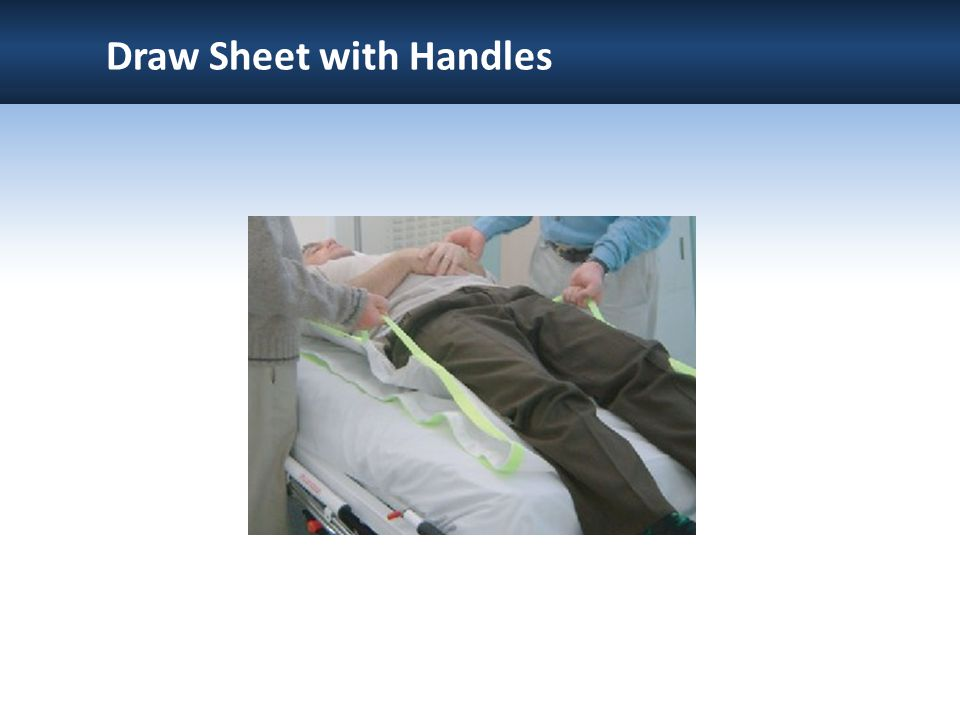 Draw Sheet with Handles