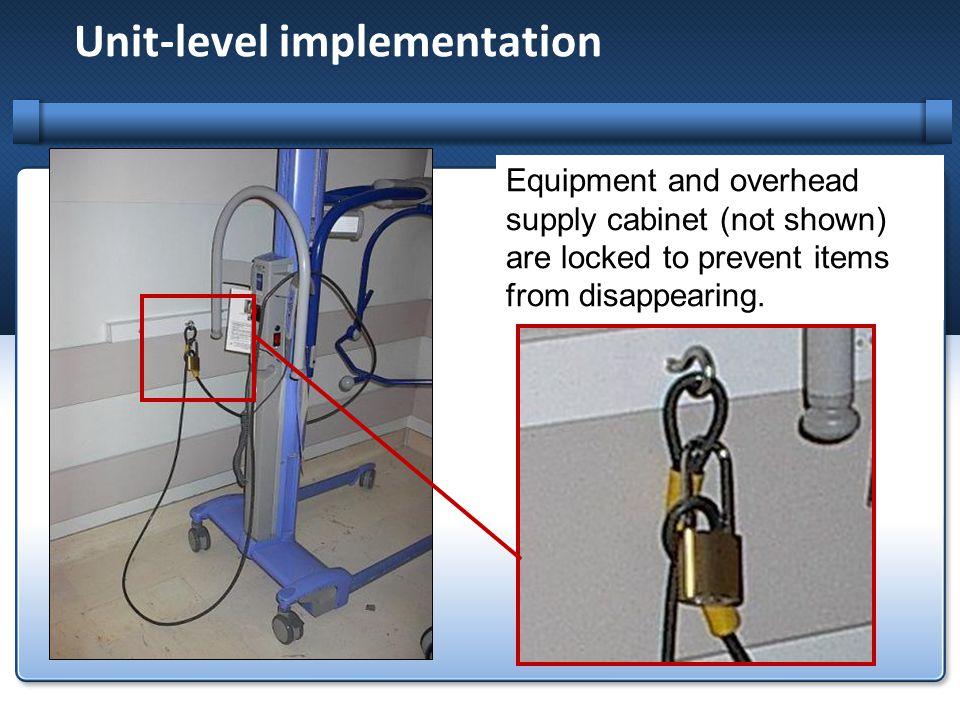 Unit-level implementation