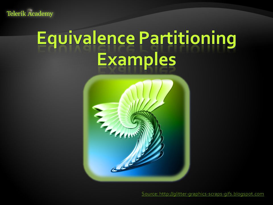 Equivalence Partitioning Examples