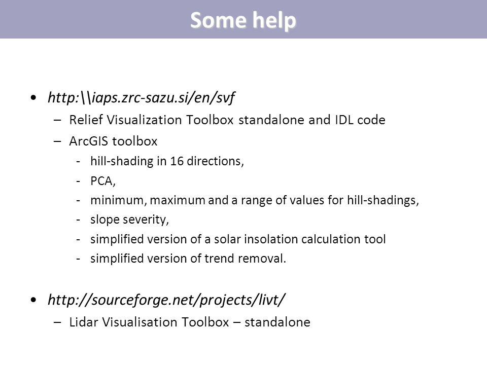 Some help http:\\iaps.zrc-sazu.si/en/svf