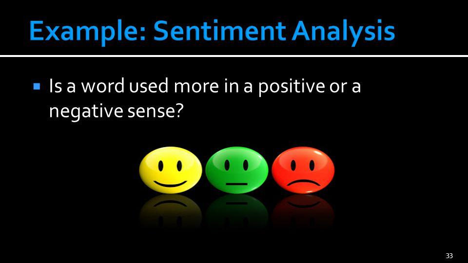 Problem: Positive or negative