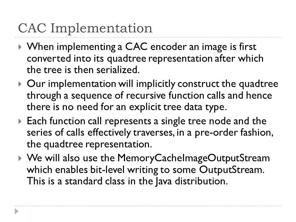 CAC Implementation