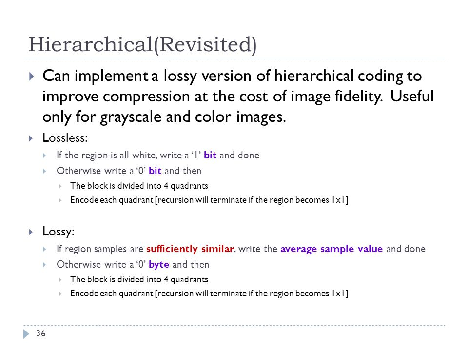 Hierarchical(Revisited)