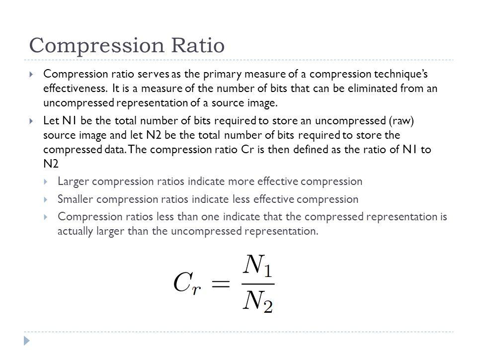 Compression Ratio