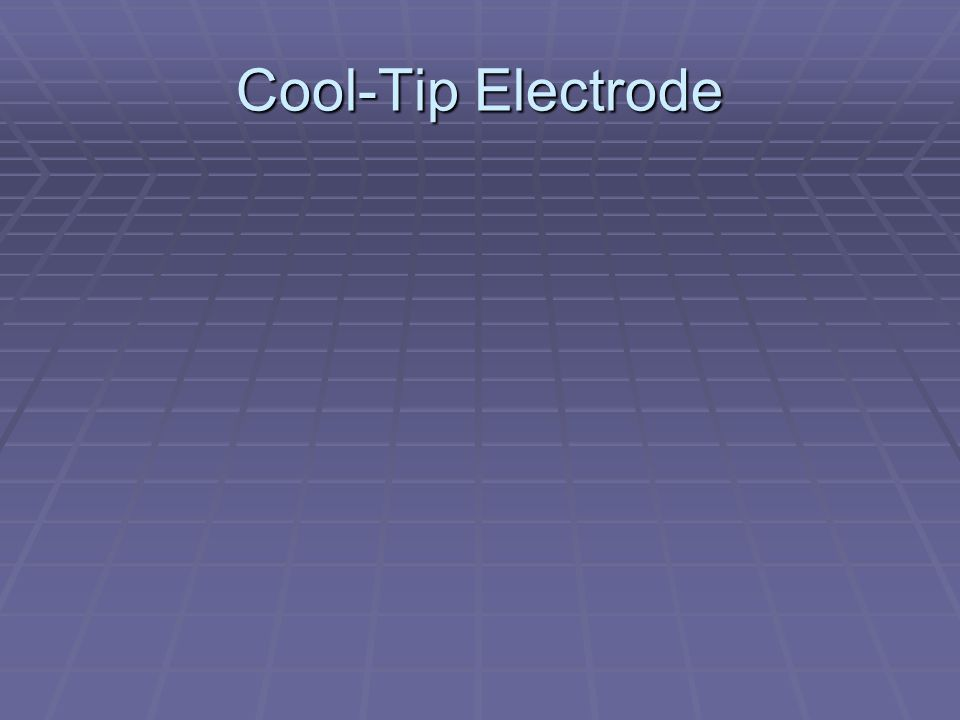 Cool-Tip Electrode