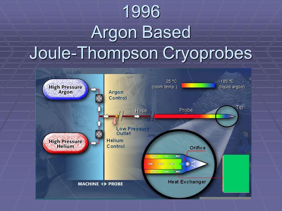 1996 Argon Based Joule-Thompson Cryoprobes
