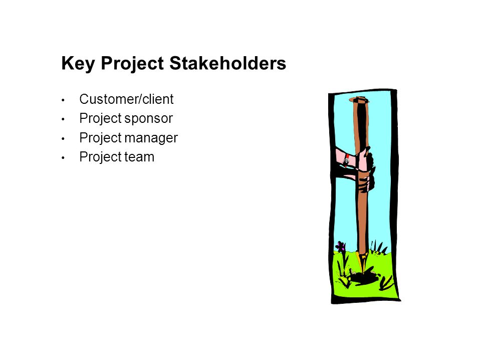 Key Project Stakeholders
