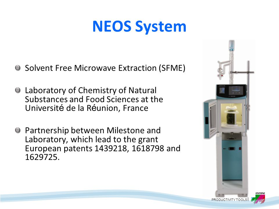 NEOS System Solvent Free Microwave Extraction (SFME)