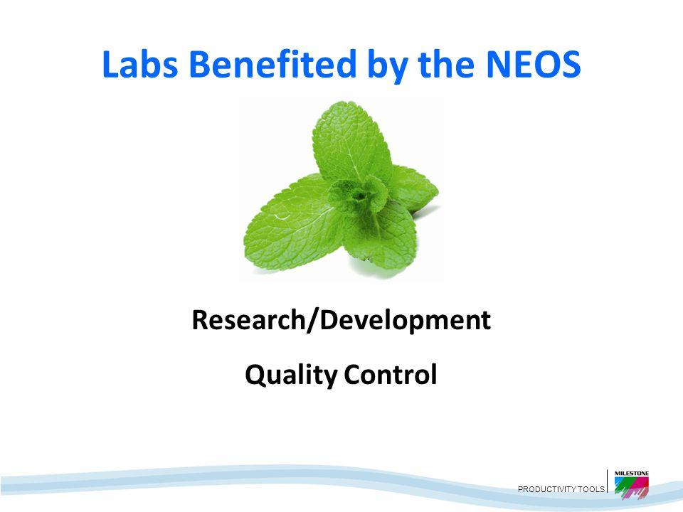Labs Benefited by the NEOS