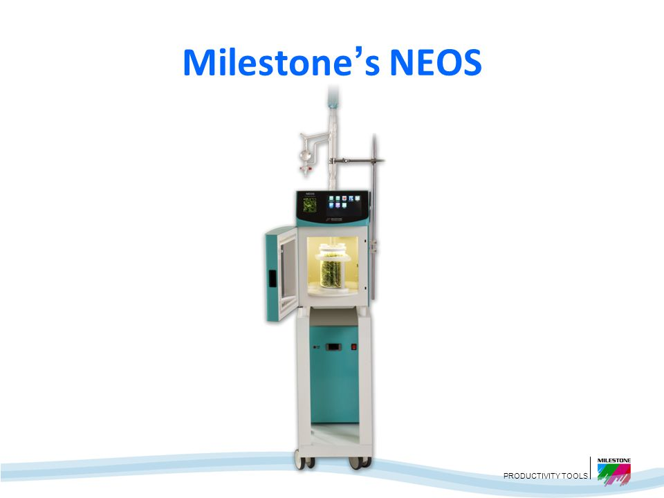 Milestone's NEOS We saw a need for a fast, more advanced technology for essential oil extraction, so we developed the NEOS which uses SFME.