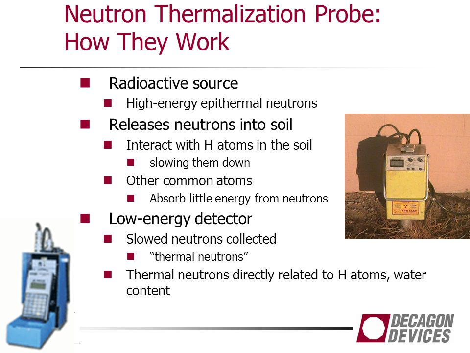 Neutron Thermalization Probe: How They Work