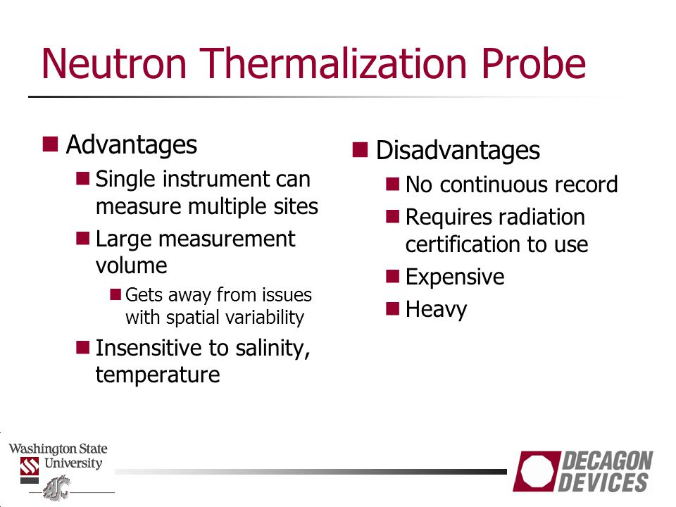 Neutron Thermalization Probe