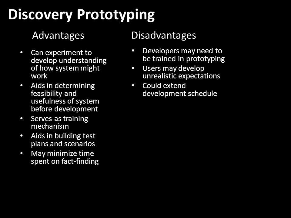 Discovery Prototyping