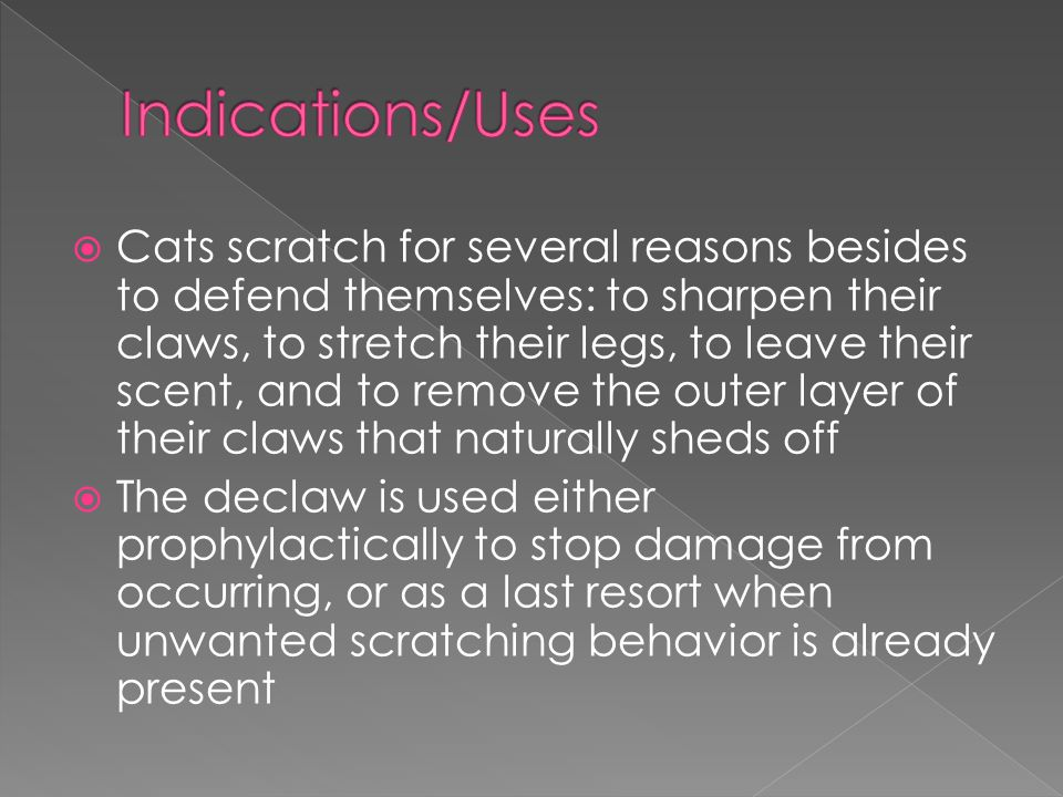 Indications/Uses