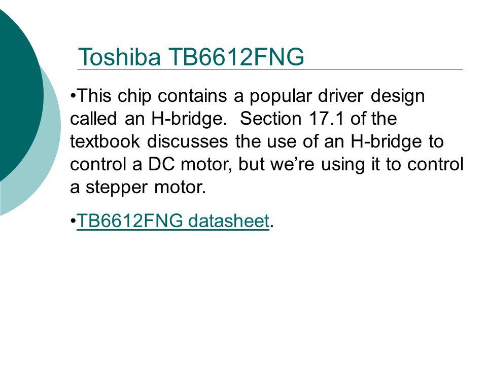 Toshiba TB6612FNG
