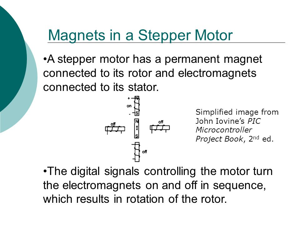 Magnets in a Stepper Motor