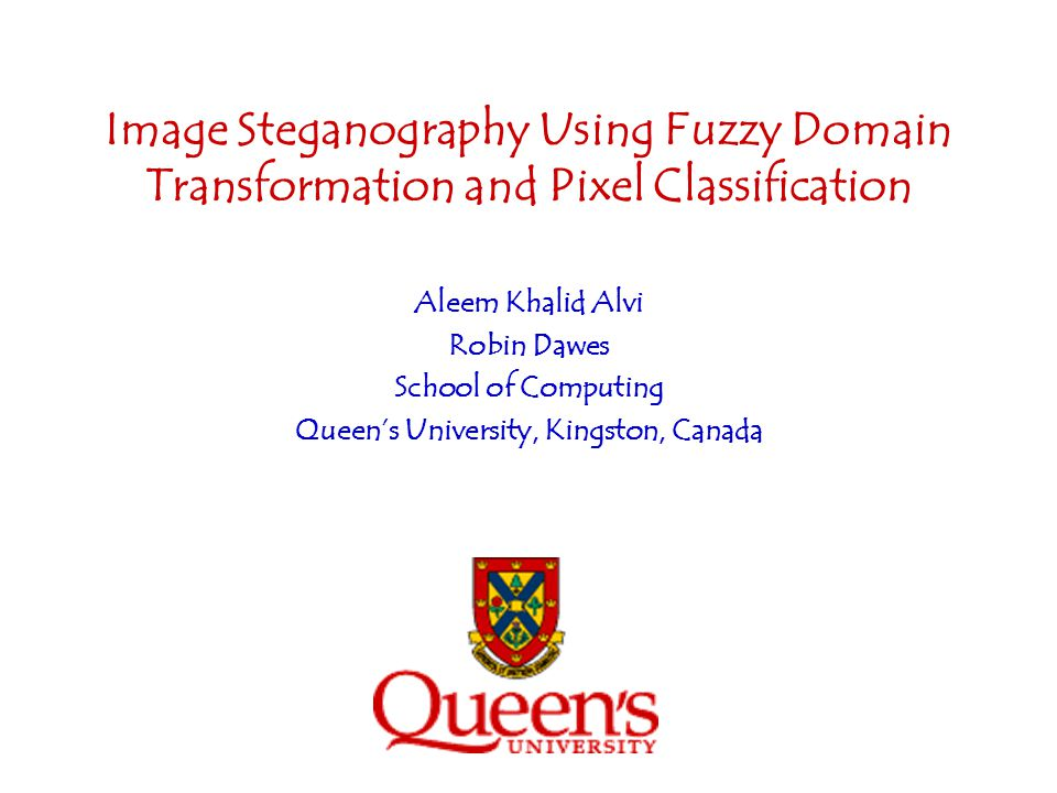 Queen's University, Kingston, Canada
