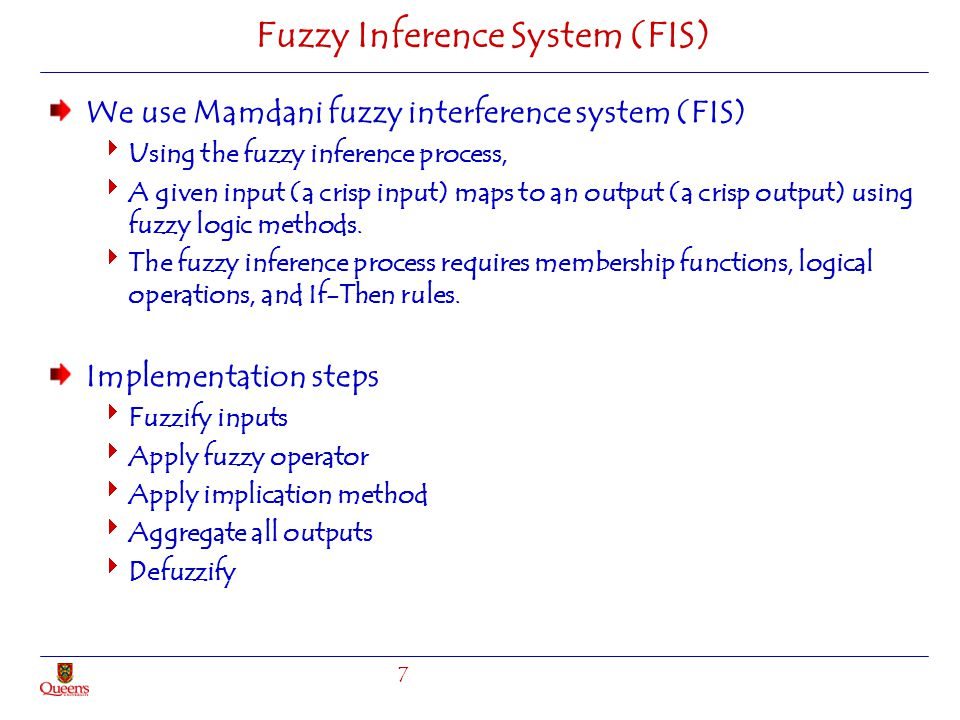 Fuzzy Inference System (FIS)