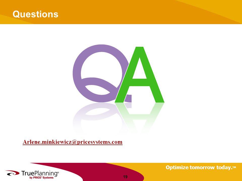 Questions Arlene.minkiewicz@pricesystems.com