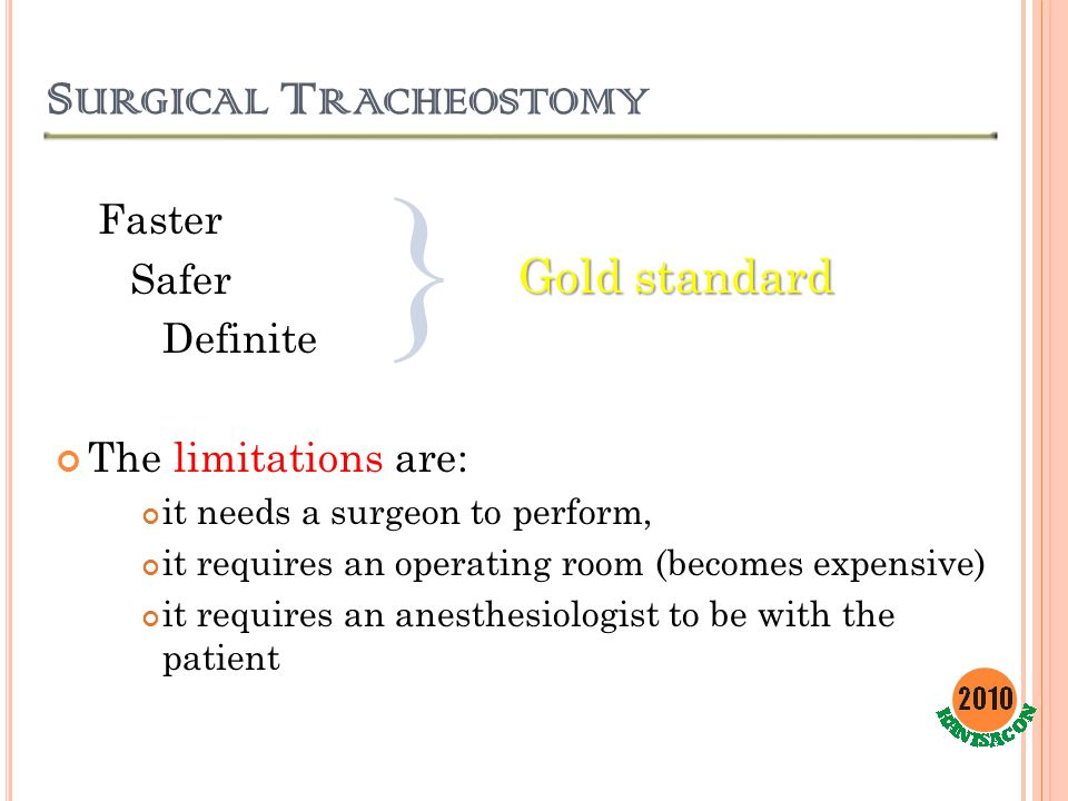 Surgical Tracheostomy