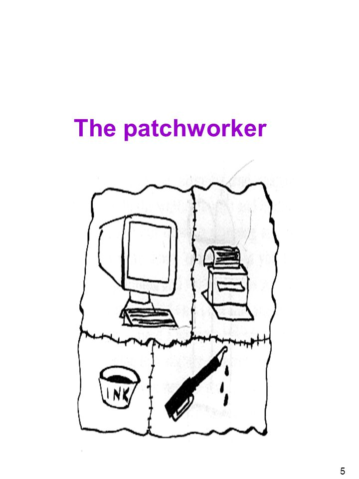 The patchworker